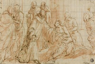 Monastic Healing by Sante Peranda
