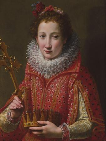 Portrait of a Lady, Traditionally Identified as Marie De' Medici, 1600-03