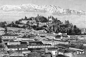 Santiago, Chile, 1895