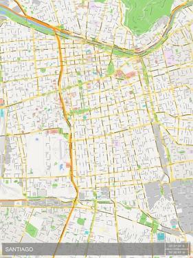 Santiago, Chile Map