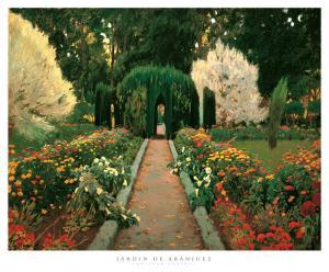 Jardin de Aranjuez by Santiago Rusinol