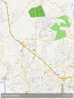 Santo Domingo, Dominican Republic Map