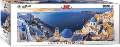 Santorini Greece 1000 Piece Puzzle