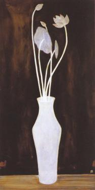 Lotus and Arum Bouquet by Sanyu