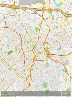 Sao Paulo, Brazil Map