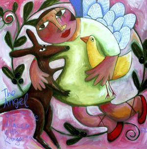 Angel of Peace by Sara Catena