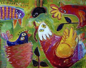 Barnyard Blues 1 by Sara Catena
