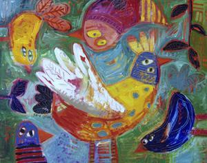 Barnyard Blues 2 by Sara Catena