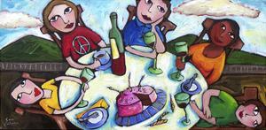 Birthday Lunch by Sara Catena