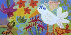 Blue Eyed Dove by Sara Catena