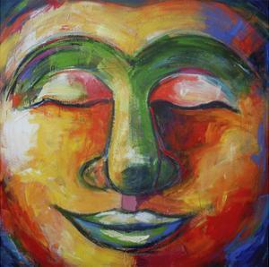 Buddha - Listen Deeply by Sara Catena