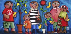 Market Day with the Lovebirds by Sara Catena