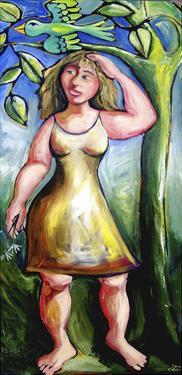 Persephone and the Wildflowers by Sara Catena