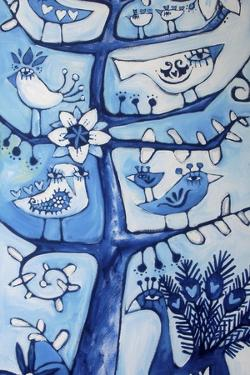 Santosha Tree (Tree of Contentment) by Sara Catena