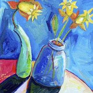 Spring's First Blooms by Sara Catena