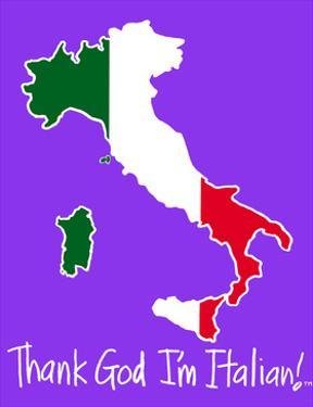 Thank God I'm Italian - Boot by Sara Catena