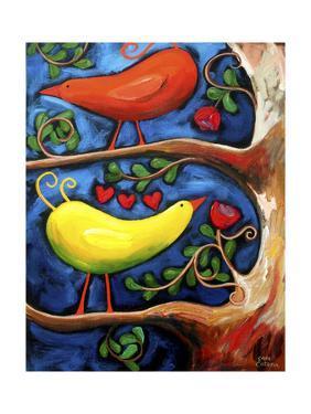 The Lovebird Dance by Sara Catena