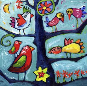 Tree Concert I by Sara Catena