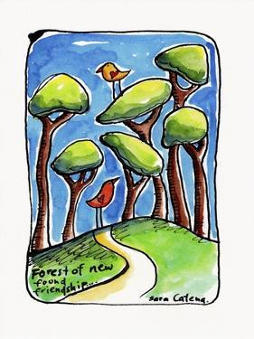 Watercolour Planet - Friendship Forest by Sara Catena