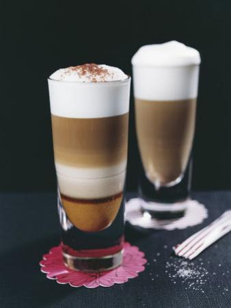 Latte Calabrese and Latte Siciliana by Sara Danielsson