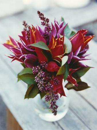 Spring Arrangement with Tulips by Sara Danielsson