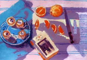 Oranges by Sara Hayward