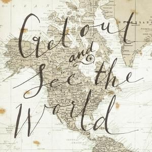 Get Out and See the World Square by Sara Zieve Miller