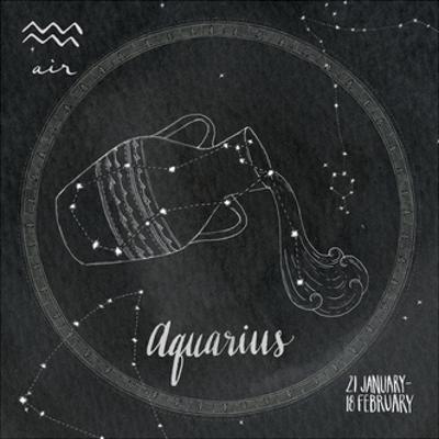 Night Sky Aquarius by Sara Zieve Miller