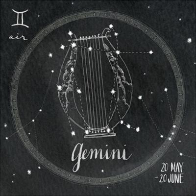 Night Sky Gemini by Sara Zieve Miller