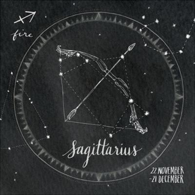 Night Sky Sagittarius. by Sara Zieve Miller