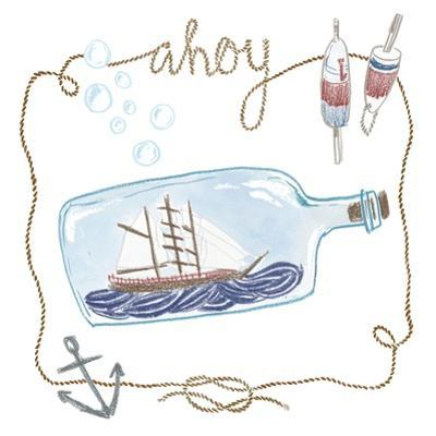 Ship in a Bottle Ahoy by Sara Zieve Miller