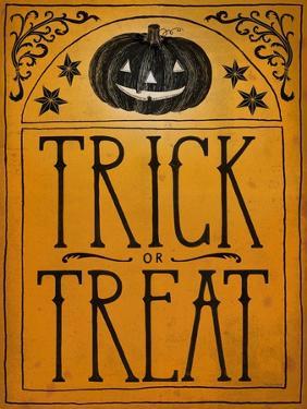 Vintage Halloween Trick or Treat by Sara Zieve Miller