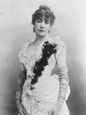 Sarah Bernhardt (1844-1923) c.1895