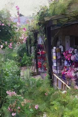 Gift Shop at Giverny by Sarah Butcher