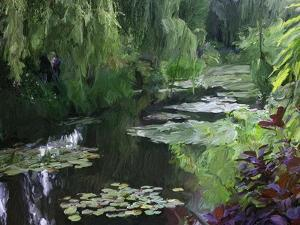 Giverny Pond by Sarah Butcher