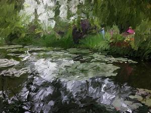 Monet Pond 2 by Sarah Butcher