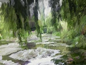 Monets Tranquil Gardens by Sarah Butcher