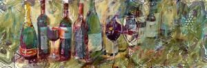 Wine and Pattern 2 by Sarah Butcher