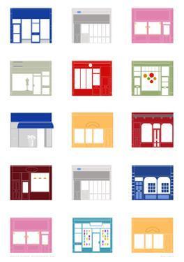Shop Fronts by Sarah Evans