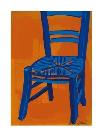 Blue Chair, 2012