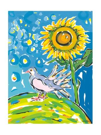 Dove and Sunflower, 2004