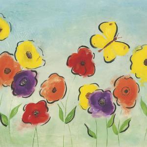 Flowering Garden I by Sarah Horsfall