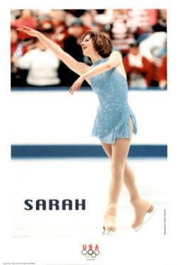 on Ice Olympics by Sarah Hughes