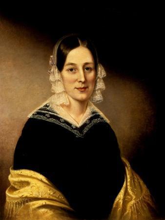 Portrait of Mrs. William Crane, C.1840