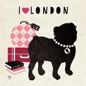 London Pooch by Sarah Mousseau