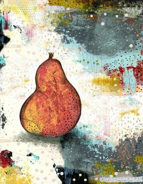 Abstract Pear by Sarah Ogren