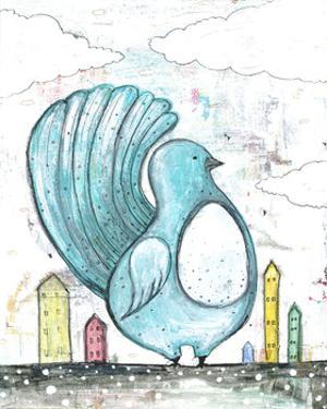 Big Blue Bird by Sarah Ogren
