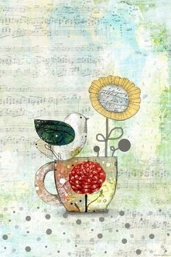 Bird on a Tea Cup by Sarah Ogren