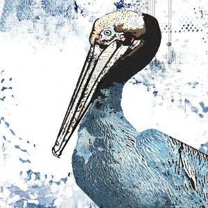 Blue Pelican by Sarah Ogren