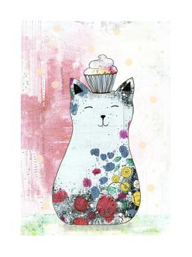 Cat with a Cupcake 2 by Sarah Ogren
